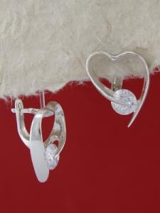 Сребърни обеци E121924