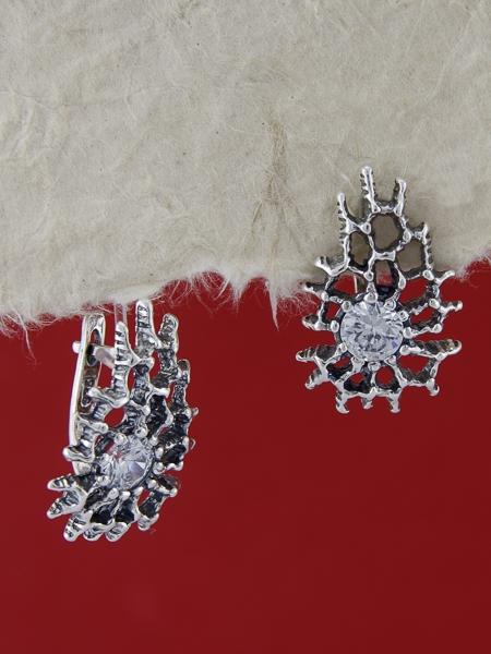Сребърни обеци E122968