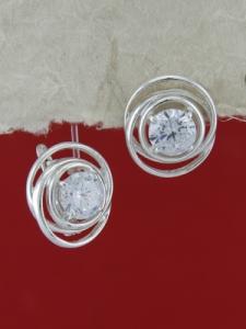 Сребърни обеци E130916
