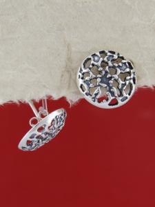Сребърни обеци E132123
