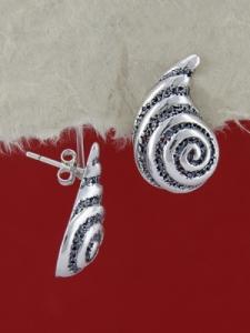 Сребърни обеци E136984