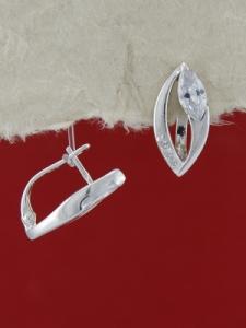 Сребърни обеци E137790