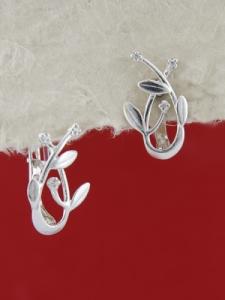 Сребърни обеци E138900