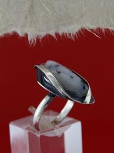 Сребърен пръстен RKWS11 - Дендрит ахат