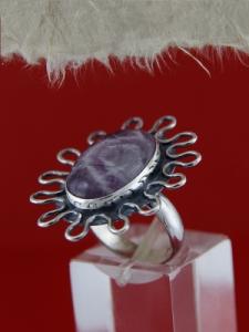 Сребърен пръстен RKWS21 - Аметист