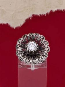 Сребърен пръстен филигран STR118