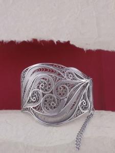 Сребърна гривна B506 филигран