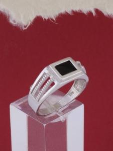 Мъжки сребърен пръстен R018t