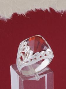 Мъжки сребърен пръстен R024t