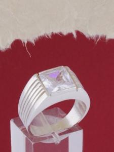 Мъжки сребърен пръстен R058t