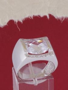Мъжки сребърен пръстен R059t