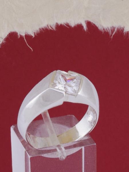 Мъжки сребърен пръстен R306s