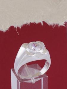 Мъжки сребърен пръстен R698s