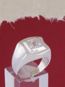 Мъжки сребърен пръстен R699s