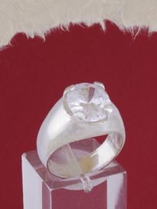 Мъжки сребърен пръстен R1415001