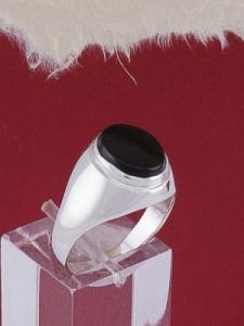 Мъжки сребърен пръстен R1474058