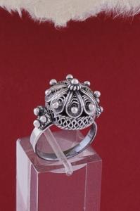 Сребърен пръстен филигран  FR2002