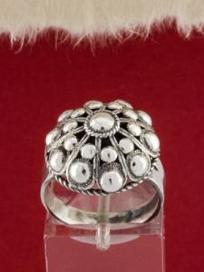 Филигранен пръстен от сребро STR133