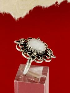 Филигранен пръстен от сребро STR137