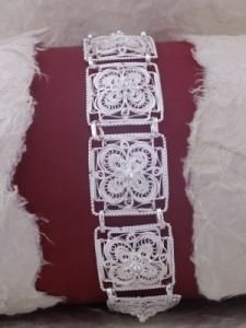 Сребърна гривна FB507 филигран