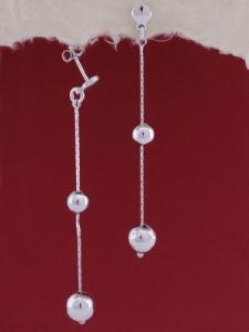 Сребърни обеци ЕI013