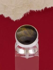 Сребърен пръстен RKWS3A - Тигрово око