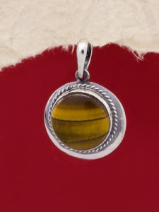 Медальон PKWS12 - Тигрово око