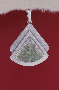 Медальон PKWS19 - Мъхов ахат