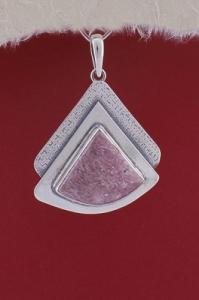 Медальон PKWS19 - Родонит
