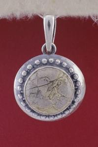 Сребърен медальон - PKWS26 - Вогесит