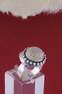Сребърен пръстен RKWS26 - Вогесит