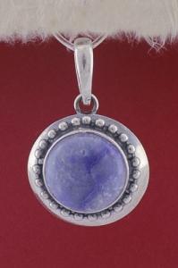 Медальон PKWS26 - Син кварц
