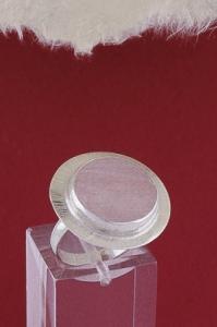 Сребърен пръстен RKWS27A - Розов кварц