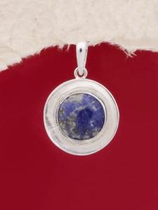 Сребърен медальон PKWS27 - Дюмортиерит