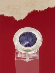Сребърен пръстен RKWS27 - Дюмортиерит