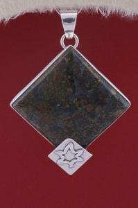 Медальон PKWS33 - Мъхов ахат Орфей