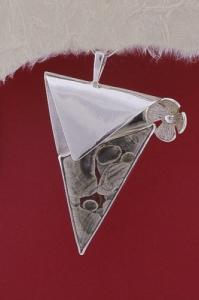 Сребърен медальон PKWS34 - Мъшруум яспис