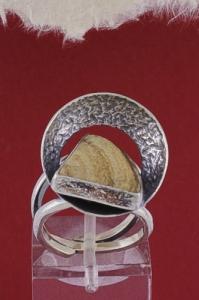Сребърен пръстен RKWS39 - Ландшафт яспис