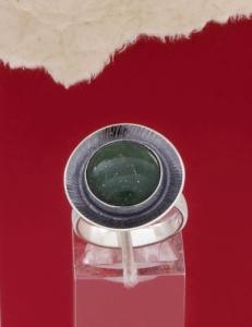 Сребърен пръстен RKWS27 - Авантюрин