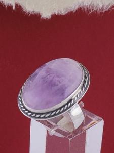 Сребърен пръстен RKWS53A - Аметист