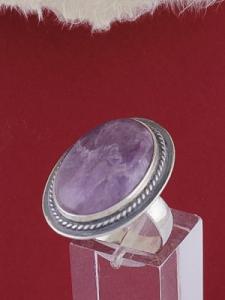 Сребърен пръстен RKWS53 - Аметист