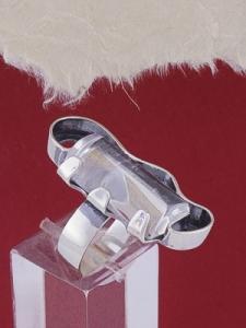 Сребърен пръстен RKWS56 - Планински кристал