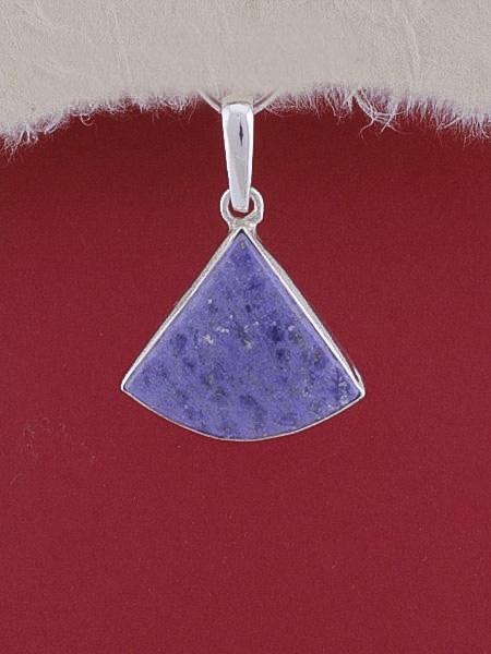 Сребърен медальон PWS21 - Дюмортиерит