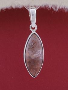 Сребърен медальон PWS26 - Брекча яспис