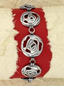 Сребърна гривна - BK367