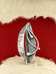 Сребърна брошка - BrK102