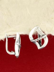 Сребърни обеци - EK321