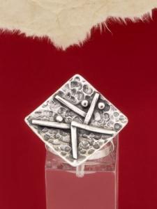 Сребърен пръстен - RK274