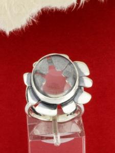 Сребърен пръстен - RKWS96- ПЛАНИНСКИ КРИСТАЛ