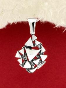 Сребърен медальон - PK333